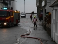 Fire crews clearing flooding at Penzance