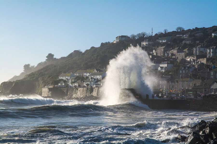 Mousehole Waves